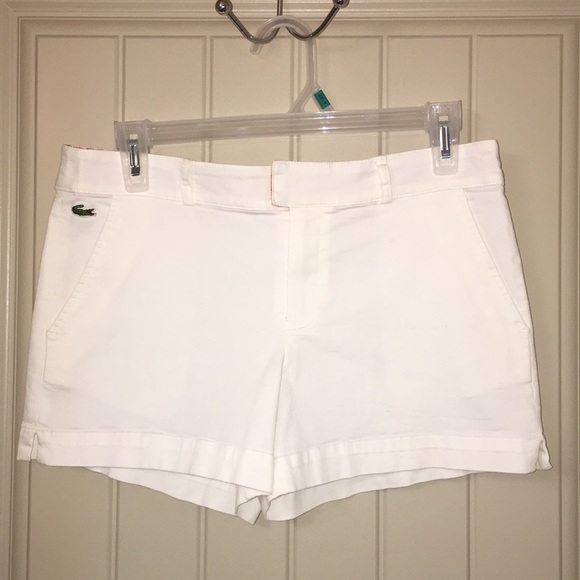 lacoste womens shorts